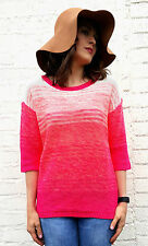 Acrylic Boat Neck 3/4 Sleeve Jumpers & Cardigans for Women