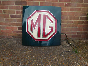 MG Eletric Sign in working order