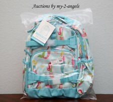 New Pottery Barn Kids Mackenzie Aqua Mermaid Large Backpack Sold Out!
