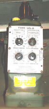 WOODWARD UG-8 Governor; Dial Type; 700 - 1500 rpm