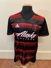 Portland Timbers Adidas Adizero MLS Soccer Jersey Sz Medium FIFA Alaska Airlines