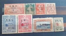 FRENCH COLONIES, (CILICE) 1910. Lot of 8 stamps Overprint