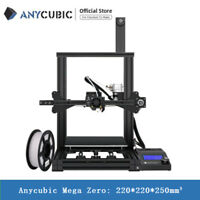 Sale! Anycubic 3D Printer Mega Zero High Precision Resume Print 220*220*250mm³