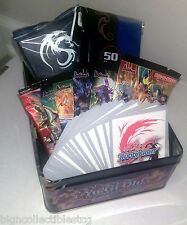 Buddyfight Tin Gift Pack w/ 60 Cards Deck Box Sleeves Booster Packs