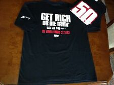 "New XXL 50 Cent ""Get Rich or Die Tryin"" G-Unit Mens Shirt and1 Eminem Dre Promo"