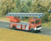 BUSCH 5608 Feuerwehr-Leiterwagen Mercedes-Benz LP 809 H0 #NEU in OVP#