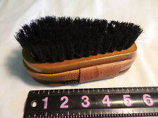 Antique Shoe Shine Brush & Travel Kit--GILLETTE RAZOR