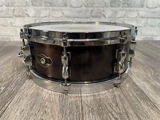 "More details for tama superstar 14"" x 5.5"" wooden shell 8 lug snare drum / hardware #sn017"