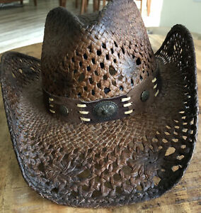 Run A Muck Collection Pure Country Brown Cowboy Hat Unisex Size M