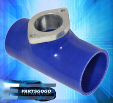 """Blow Off Valve Rs S Type Flange Silicone Adapter 2.5"""" Blue For Nissan Infiniti"""