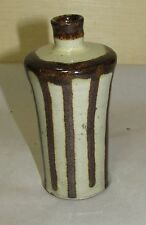 Old or Antique Japanese or Chinese Studio Pottery Ceramic Vase or Bottle