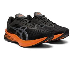 Asics Mens Novablast Running Shoes Trainers Sneakers Black Orange Sports