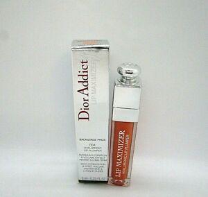 Christian Dior Addict Lip Maximizer Hyaluronic Lip Plumper ~ 004 Coral ~ 0.20 oz
