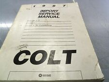 1987 Dodge Colt Import Service Manual Volume 2 Electrical Heater A/C FREE Ship