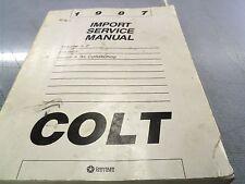 1987 Dodge Colt Import Service Manual Volume 2 Electrical Heater A/C FREE Ship
