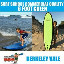 6ft Softboard Green COMMERICAL SURF SCHOOL Quality Surfboard Vacuum Sealed
