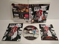 The way of the Samurai 3 - PS3 - Pal français - Complet - Comme neuf