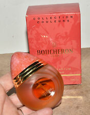 Vtg Boucheron Eau De Parfum 1 FL OZ / 30 ml Peach Collection Couleurs Box Full
