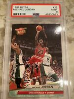 1992 Fleer Ultra Michael Jordan #27 Mint PSA 9 Chicago Bulls 🔥🔥🔥