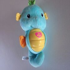 Fisher Price Blue Soothe & Glow Musical Baby Seahorse