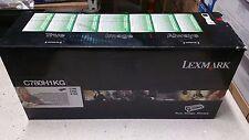 Genuine Lexmark C780H1KG  Black  Toner for use in C780, C782, X782, Series