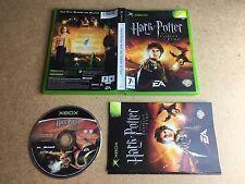 HARRY Potter e i calici di fuoco-Microsoft XBOX (Testato / Working) UK PAL