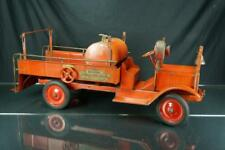 1920'S KEYSTONE PACKARD PRESSED STEEL CHEMICAL PUMP ENGINE LARGE TOY TRUCK