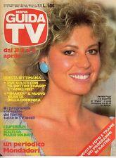 rivista NUOVA GUIDA TV ANNO 1985 NUMERO 13 DANIELA POGGI