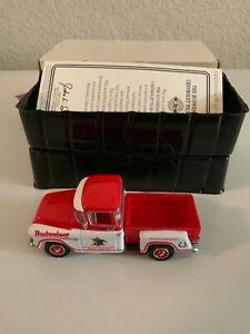 Matchbox Collectibles Budweiser 1955 Chevrolet Pickup Truck-YVT04-M-MOY-COA