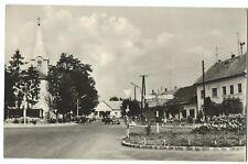 Hungary; Lenti Crossroads RP PPC, 1950's to Antwerp, Belgium