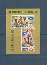 Togo bloc  scouts scoutisme     de 1968    num:  33   **