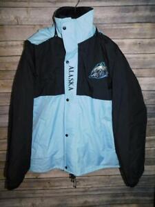 Alaska Aces Hockey Coat Size XL Blue Black 3 in 1 Jacket Polar Bear Logo Mens XL