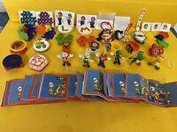 Komplettsatz Neu Super Mario  DV548 - DV596 24 Figuren mit allen BPZ mit DV563