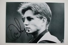 Eric Roberts signed 20x30cm The Coca-Cola Kid Foto Autogramm Autograph In Person