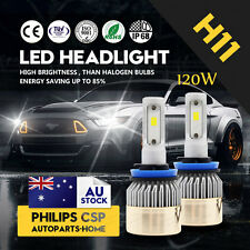 120W 12000LM Upgrade LED HEADLIGHT BULBS KIT H11 H8 H9 6500K HIGH POWER LOW BEAM