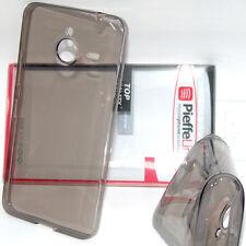 Custodia in silicone tpu trasparente fumè cover ANTIURTO per Nokia Lumia XL 640