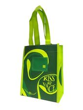 12 New ECO BAGS Kiss My Face certified Organic Cotton Reusable Lunch Bag Sacks