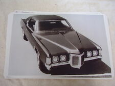 1969 PONTIAC GRAN PRIX FRONT VIEW  11 X 17  PHOTO /  PICTURE