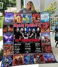 Iron Maiden Quilt-0489 Poly Cotton Premium Gift Idea Holiday Quilt Blanket