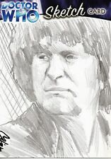 DOCTOR WHO Sketch Card by Cat Staggs - Fourth Doctor (Tom Baker) - Strictly Ink