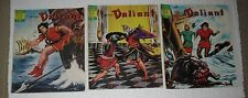 Vintage French Comics Books Prince Valiant Lot of 3 Books FREE SHIPPING