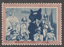 Ireland Irish Hospital Sweepstakes Cinderella Jubilee Black Cat Lucky Baby 1955