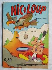 NIC ET LOUP 28 EDITIONS DE LUTECE 1970 RARE