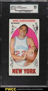 1969 Topps Basketball Dave DeBusschere ROOKIE RC #85 SGC 9 MINT