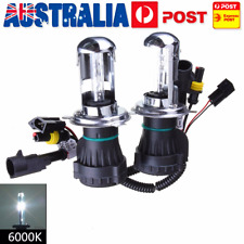 AU 1 Pair H4 35W 6000K HI/LO Beam Bi-Xenon HID Conversion Kit Light Bulbs Globes