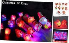 50 Pack Halloween Party Favors Supplies,Light Up Rings for Kids Adults Flashing