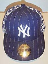 New York Yankees Cap Hat Derek Jeter Checker Baseball MLB Size 7 New Era
