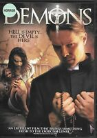 Demons (DVD) Demonic Ghostly Horror We Combine Shipping in the U.S.!