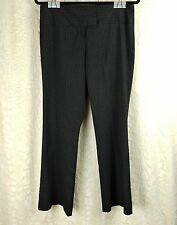 Nordstrom S & D Dress Pants Pinstripe Career Office Clothes Women's 8 Gray F-43