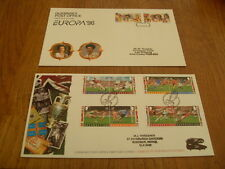 GUERNSEY FIRST ,D,COVER'S-TRBUTE TO EURO FOOTBALL 1996 / EUROPA 1996